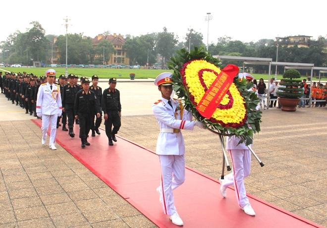 Bộ Tư lệnh Cảnh sát cơ động báo công dâng Bác - Ảnh minh hoạ 6