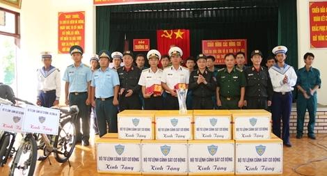 Bộ Tư lệnh Cảnh sát cơ động về nguồn tại quần đảo Trường Sa và Nhà dàn DK1