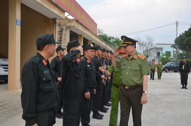 Bộ trưởng Tô Lâm thăm và làm việc tại Trung đoàn CSCĐ Tây Bắc - Ảnh minh hoạ 2