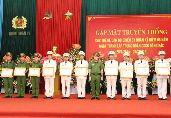 Trung đoàn CSCĐ Đông Bắc gặp mặt truyền thống nhân kỷ niệm 5 năm thành lập - Ảnh minh hoạ 6