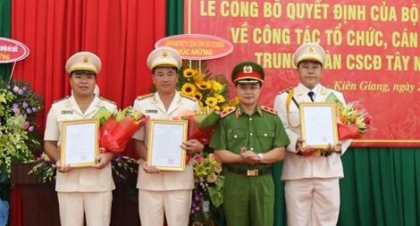 Thành lập Tiểu đoàn CSCĐ, đặc nhiệm tại huyện đảo Phú Quốc