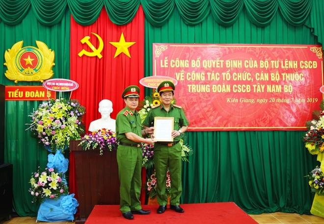 Thành lập Tiểu đoàn CSCĐ, đặc nhiệm tại huyện đảo Phú Quốc - Ảnh minh hoạ 3