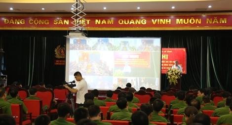 Quán triệt các Nghị quyết của Đảng và Bộ Chính trị trong Đảng uỷ Bộ Tư lệnh CSCĐ