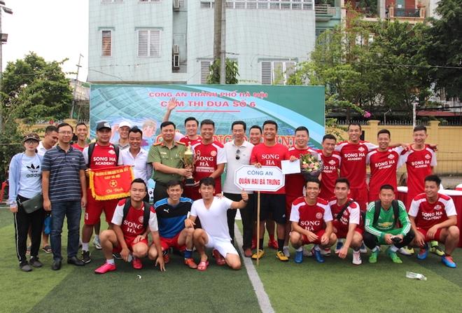 CA quận Hai Bà Trưng đoạt vô địch giải bóng đá mini Cụm thi đua số 6 - Ảnh minh hoạ 2