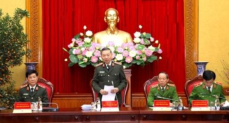 Tăng cường đảm bảo an ninh trật tự cho nhân dân đón Tết, vui xuân