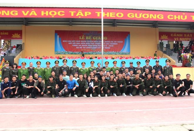 Bế giảng chương trình huấn luyện đầu khoá học viên các trường CAND - Ảnh minh hoạ 10