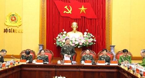 Bộ trưởng Tô Lâm chủ trì Hội nghị giao ban công tác Công an