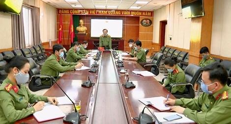Thứ trưởng Nguyễn Văn Thành làm việc với Cục Truyền thông CAND