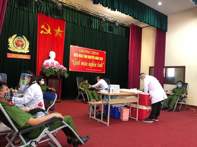 Hơn 620 CBCS Bộ Tư lệnh Cảnh sát cơ động tham gia hiến máu - Ảnh minh hoạ 7