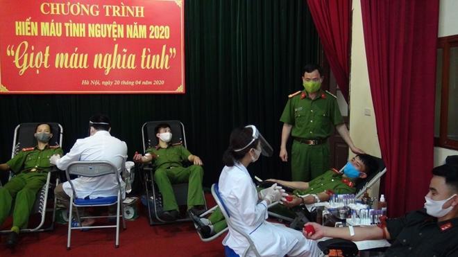 Hơn 620 CBCS Bộ Tư lệnh Cảnh sát cơ động tham gia hiến máu - Ảnh minh hoạ 6