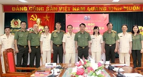 Đại hội điểm tại Cơ quan Ủy ban Kiểm tra Đảng ủy Công an Trung ương