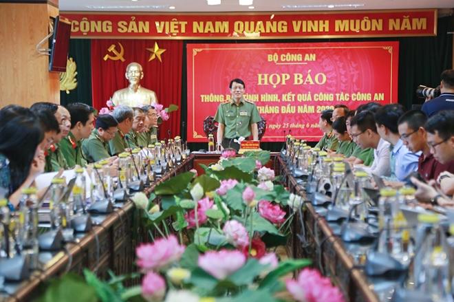 Thứ trưởng Lương Tam Quang thông tin về vụ án Nhật Cường, Công ty Tenma