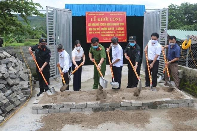 Trung đoàn CSCĐ Đông Bắc ủng hộ 150 triệu đồng xây nhà tình thương tại Quảng Ninh - Ảnh minh hoạ 2