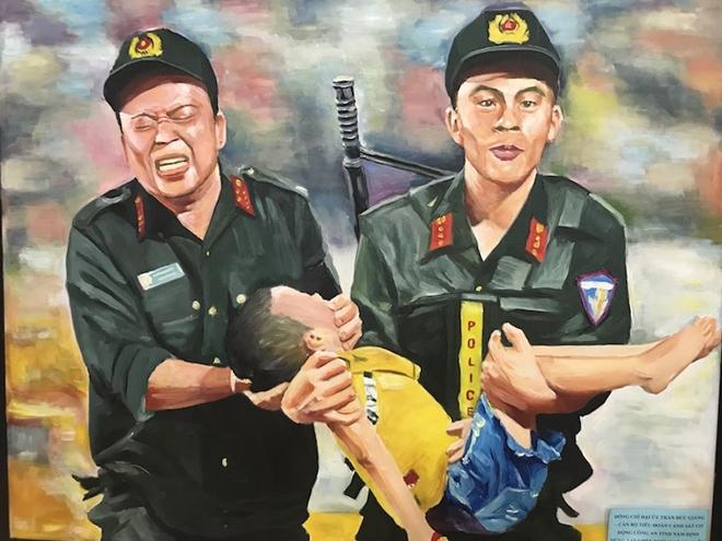 Trung đoàn CSCĐ Thủ đô tổ chức nhiều hoạt động chào mừng Ngày truyền thống CAND - Ảnh minh hoạ 7