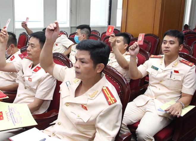 Xây dựng lực lượng Kiểm tra Đảng trong CAND bản lĩnh, liêm khiết, tận tụy - Ảnh minh hoạ 9