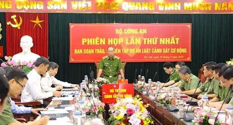 Tạo cơ sở pháp lý cho lực lượng CSCĐ thực thi nhiệm vụ trong tình hình mới