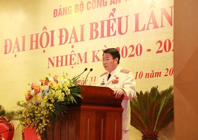 Thứ trưởng Bùi Văn Nam báo cáo kết quả phiên họp trù bị.