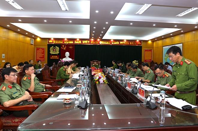 Họp Ban Chỉ đạo diễn tập phương án bảo vệ Đại hội Đảng lần thứ XIII