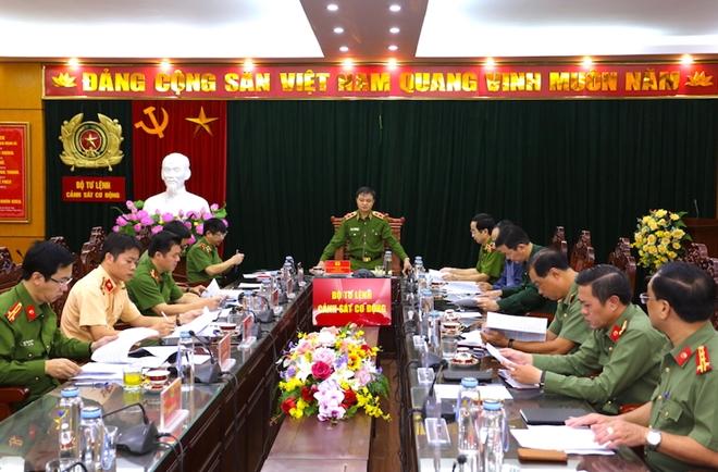 Họp Ban Chỉ đạo diễn tập phương án bảo vệ Đại hội Đảng lần thứ XIII - Ảnh minh hoạ 4