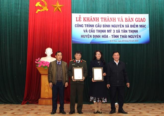 Khánh thành hai cây cầu dân sinh tại huyện Định Hóa, tỉnh Thái Nguyên - Ảnh minh hoạ 4