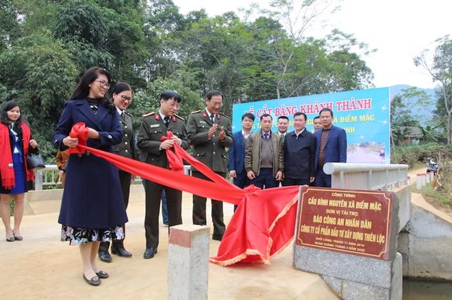 Khánh thành hai cây cầu dân sinh tại huyện Định Hóa, tỉnh Thái Nguyên - Ảnh minh hoạ 6
