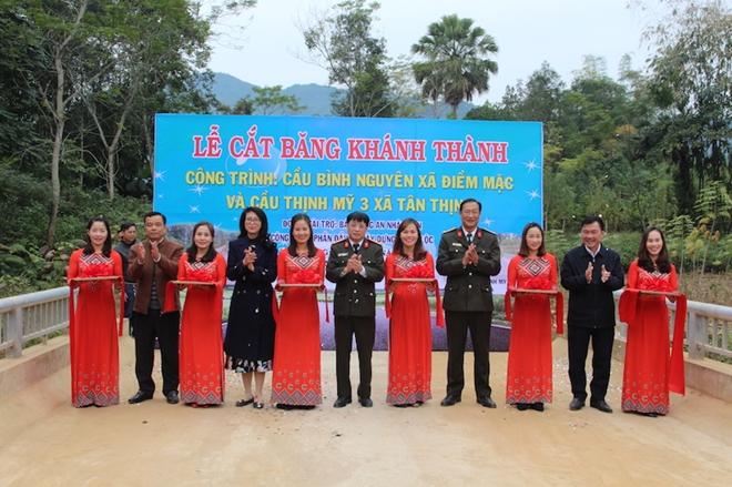 Khánh thành hai cây cầu dân sinh tại huyện Định Hóa, tỉnh Thái Nguyên - Ảnh minh hoạ 5