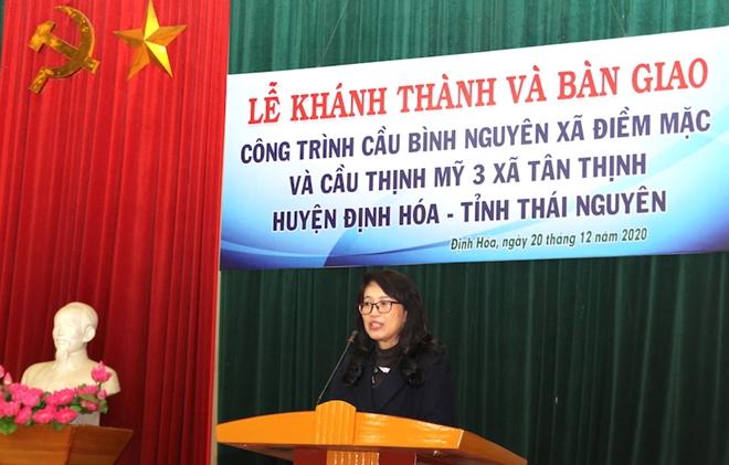 Khánh thành hai cây cầu dân sinh tại huyện Định Hóa, tỉnh Thái Nguyên - Ảnh minh hoạ 3