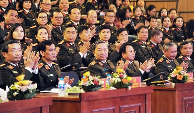 Bộ trưởng Tô Lâm chỉ đạo Hội nghị triển khai công tác Cục Truyền thông CAND