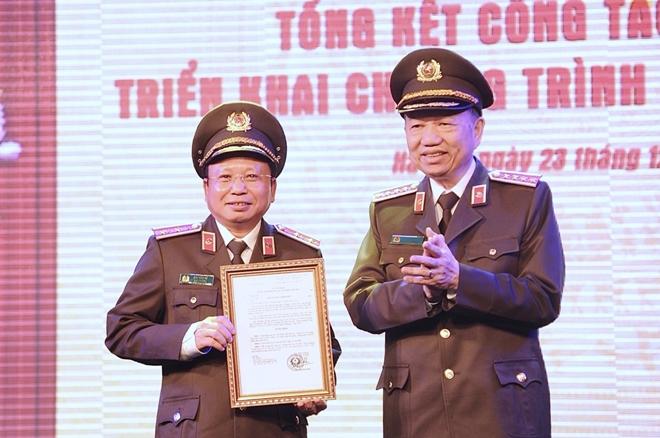 Bộ trưởng Tô Lâm chỉ đạo Hội nghị triển khai công tác Cục Truyền thông CAND - Ảnh minh hoạ 4