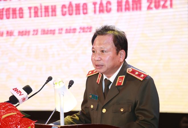 Bộ trưởng Tô Lâm chỉ đạo Hội nghị triển khai công tác Cục Truyền thông CAND - Ảnh minh hoạ 12