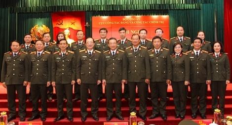 Xây dựng Đảng và xây dựng lực lượng CAND vững mạnh về chính trị