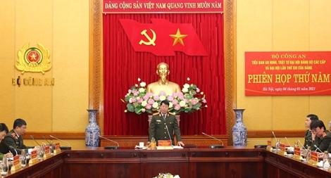 Chủ động trong mọi tình huống, bảo vệ tuyệt đối an toàn Đại hội lần thứ XIII của Đảng