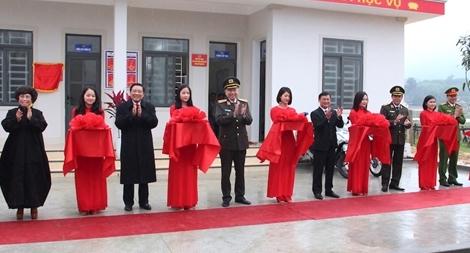 Bộ trưởng Tô Lâm dự Lễ khánh thành trụ sở Công an xã biên giới Nghệ An