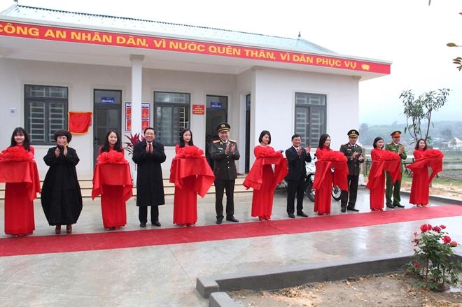 Bộ trưởng Tô Lâm dự Lễ khánh thành trụ sở Công an xã biên giới Nghệ An - Ảnh minh hoạ 5