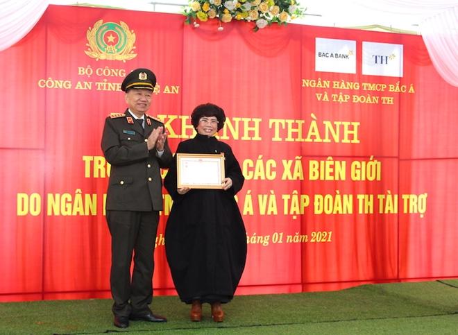 Bộ trưởng Tô Lâm dự Lễ khánh thành trụ sở Công an xã biên giới Nghệ An - Ảnh minh hoạ 2