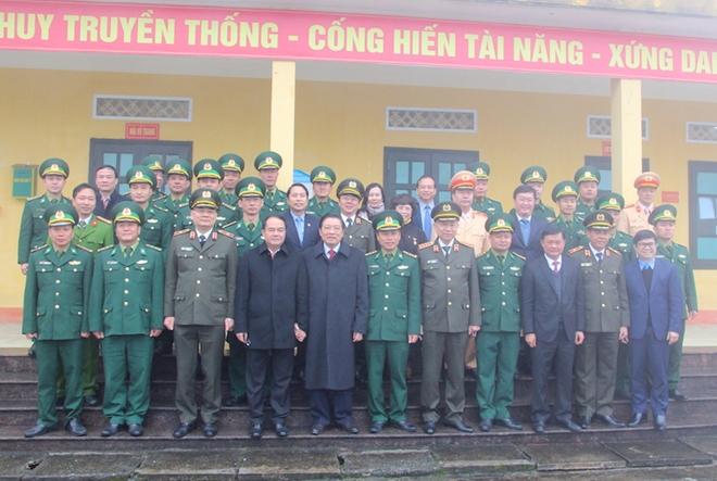 Bộ trưởng Tô Lâm dự Lễ khánh thành trụ sở Công an xã biên giới Nghệ An - Ảnh minh hoạ 14