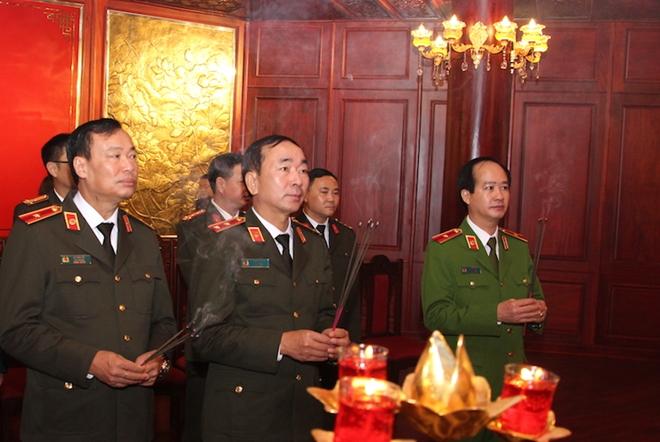 Khánh thành Phòng tưởng niệm Chủ tịch Hồ Chí Minh và các liệt sỹ CAND - Ảnh minh hoạ 2