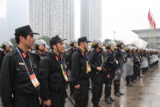 Cảnh sát cơ động nguyện toàn tâm bảo vệ Đại hội Đảng - Ảnh minh hoạ 12