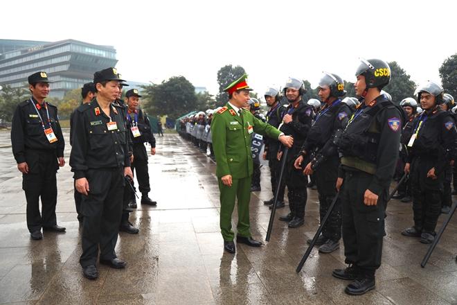 Cảnh sát cơ động nguyện toàn tâm bảo vệ Đại hội Đảng - Ảnh minh hoạ 4