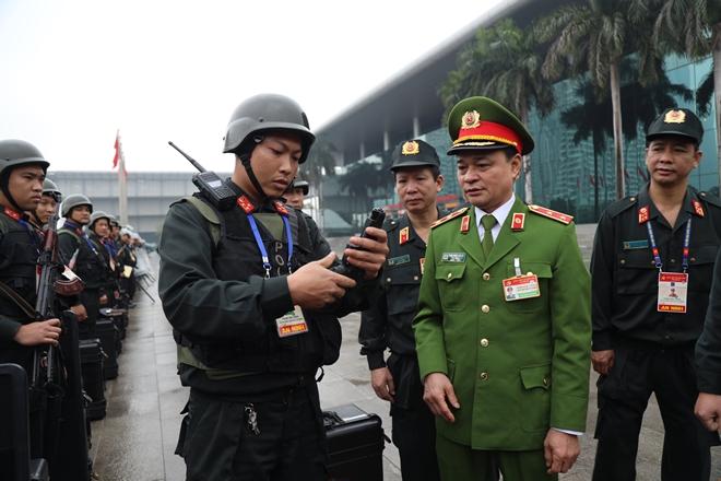 Cảnh sát cơ động nguyện toàn tâm bảo vệ Đại hội Đảng - Ảnh minh hoạ 3