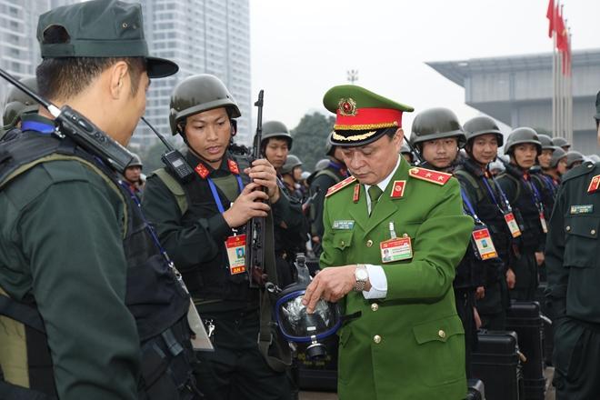 Cảnh sát cơ động nguyện toàn tâm bảo vệ Đại hội Đảng - Ảnh minh hoạ 7