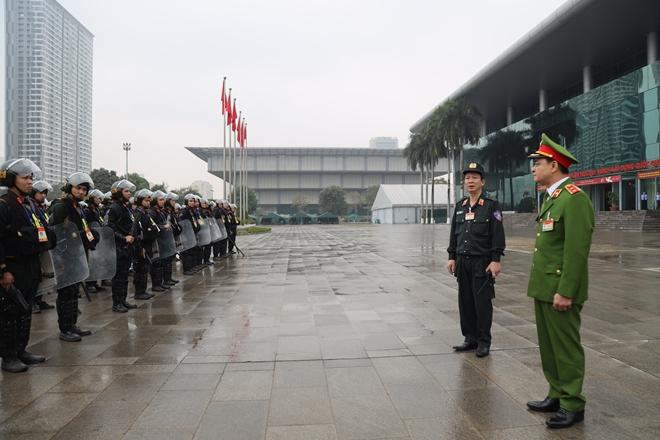 Cảnh sát cơ động nguyện toàn tâm bảo vệ Đại hội Đảng - Ảnh minh hoạ 9