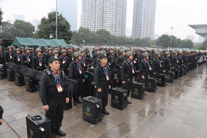 Cảnh sát cơ động nguyện toàn tâm bảo vệ Đại hội Đảng - Ảnh minh hoạ 11
