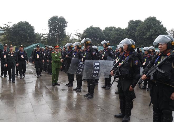 Cảnh sát cơ động nguyện toàn tâm bảo vệ Đại hội Đảng - Ảnh minh hoạ 5