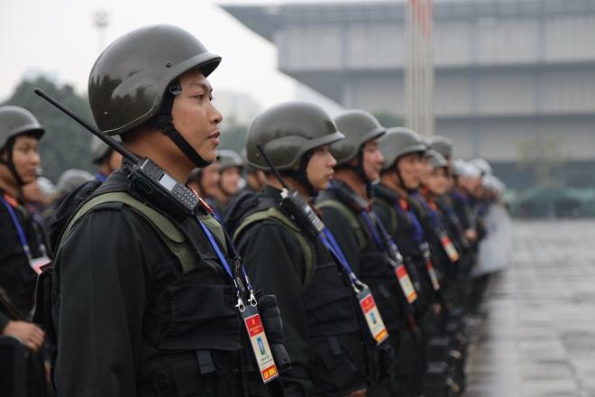 Cảnh sát cơ động nguyện toàn tâm bảo vệ Đại hội Đảng - Ảnh minh hoạ 8