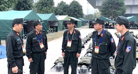 Chuyện bảo vệ an ninh, trật tự ở nơi tổ chức Đại hội XIII của Đảng