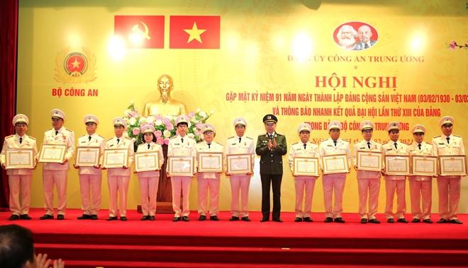 Đảng ủy Công an Trung ương gặp mặt nhân kỷ niệm 91 năm Ngày thành lập Đảng - Ảnh minh hoạ 5