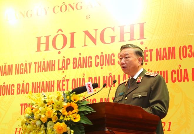 Đảng ủy Công an Trung ương gặp mặt nhân kỷ niệm 91 năm Ngày thành lập Đảng - Ảnh minh hoạ 2