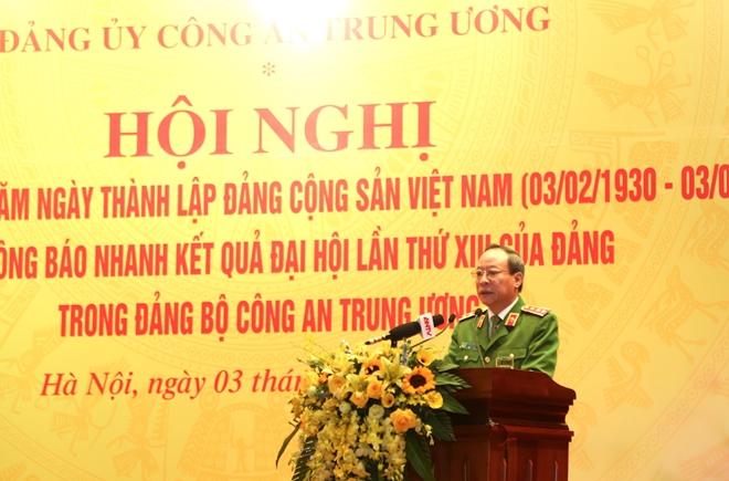 Đảng ủy Công an Trung ương gặp mặt nhân kỷ niệm 91 năm Ngày thành lập Đảng - Ảnh minh hoạ 3