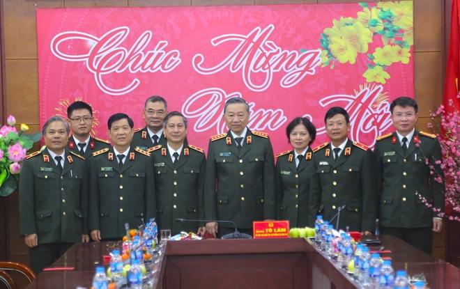 Bộ trưởng Tô Lâm kiểm tra công tác ứng trực tại Cục Hậu cần, Cục Kế hoạch và tài chính - Ảnh minh hoạ 4